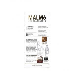 Malmö chokladfabrik lakritsrot