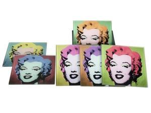 Glasunderlägg Marilyn Monroe