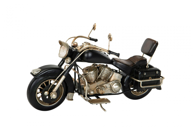 Motorcykel svart
