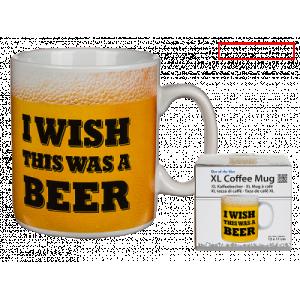 Jumbomugg i wish this was a beer