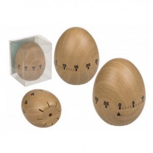 Äggklocka i trä