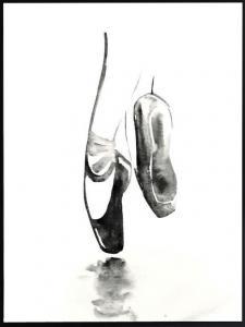 Poster 30x40 Dancing Ballerina