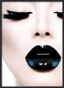 Poster 30x40 Black lipstick