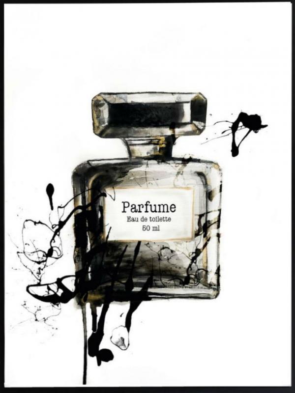 Poster 30x40 Perfume