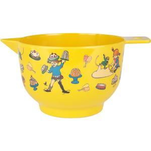 Pippi Långstrump bakskål gul stor
