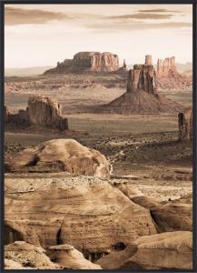 Poster 30x40 Desert rocks