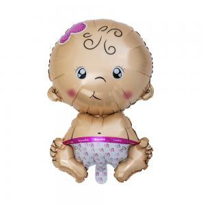 Ballong baby rosa