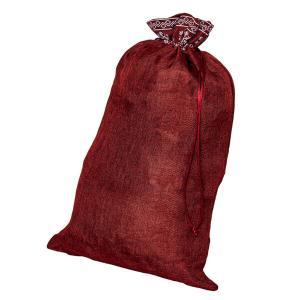Liten julsäck röd