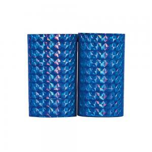 Serpentiner holografisk blå