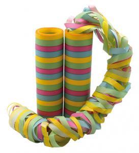 Serpentiner mixade färger