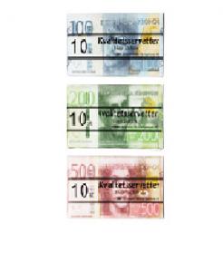 Servett pengar