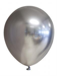 Ballonger spegelsilver 6-pack
