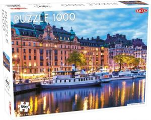 Pussel Stockholm Old town 1000 bitar