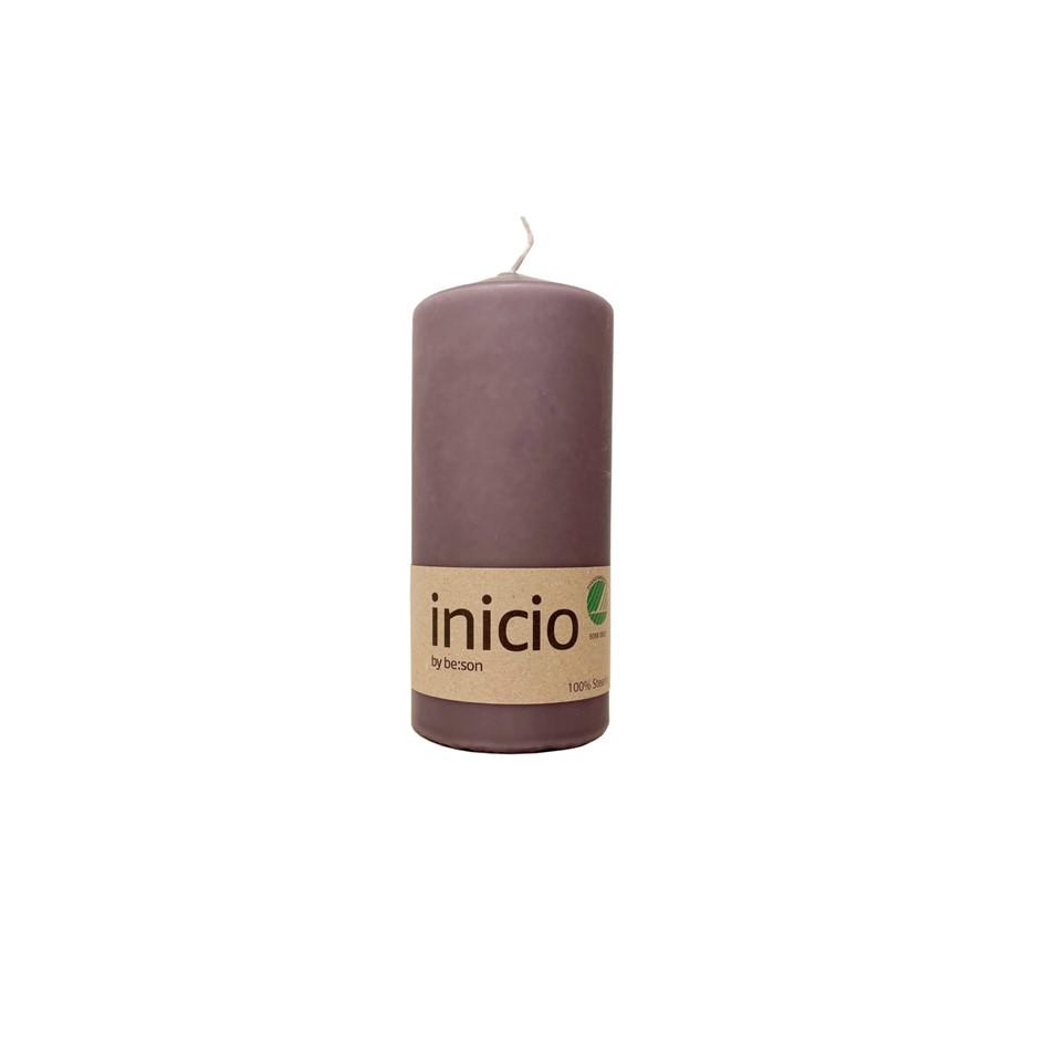 Inicio blockljus lavendel stort