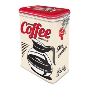 Box strong coffee