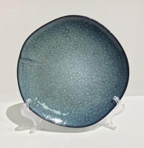 Tallrik blue pearl