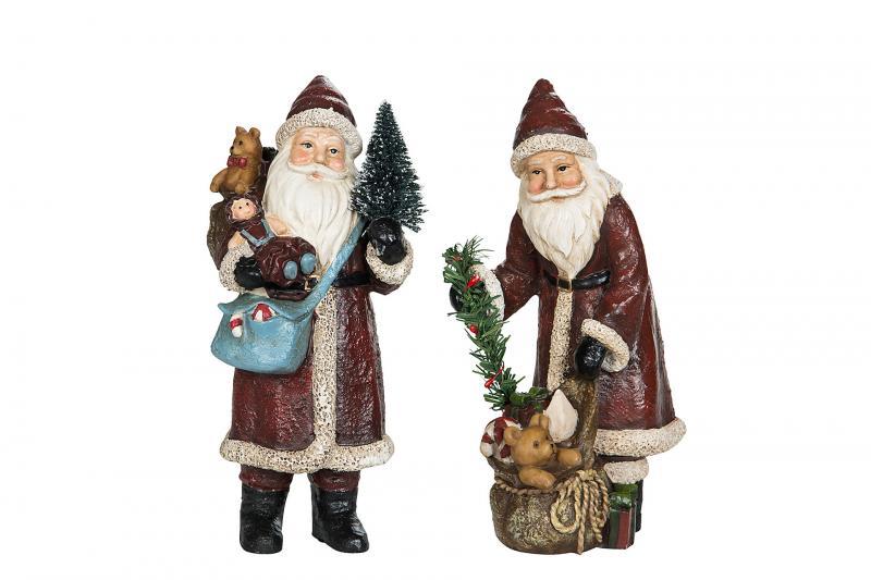 Tomte med julklappar