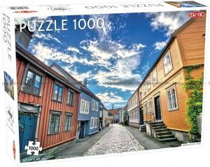 Pussel Trondheim Old Town 1000 bitar