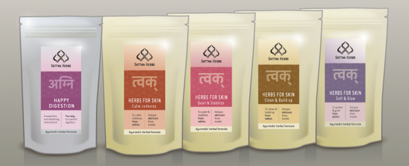 Highest quality Ayurvedic herbal blends customized  to calm