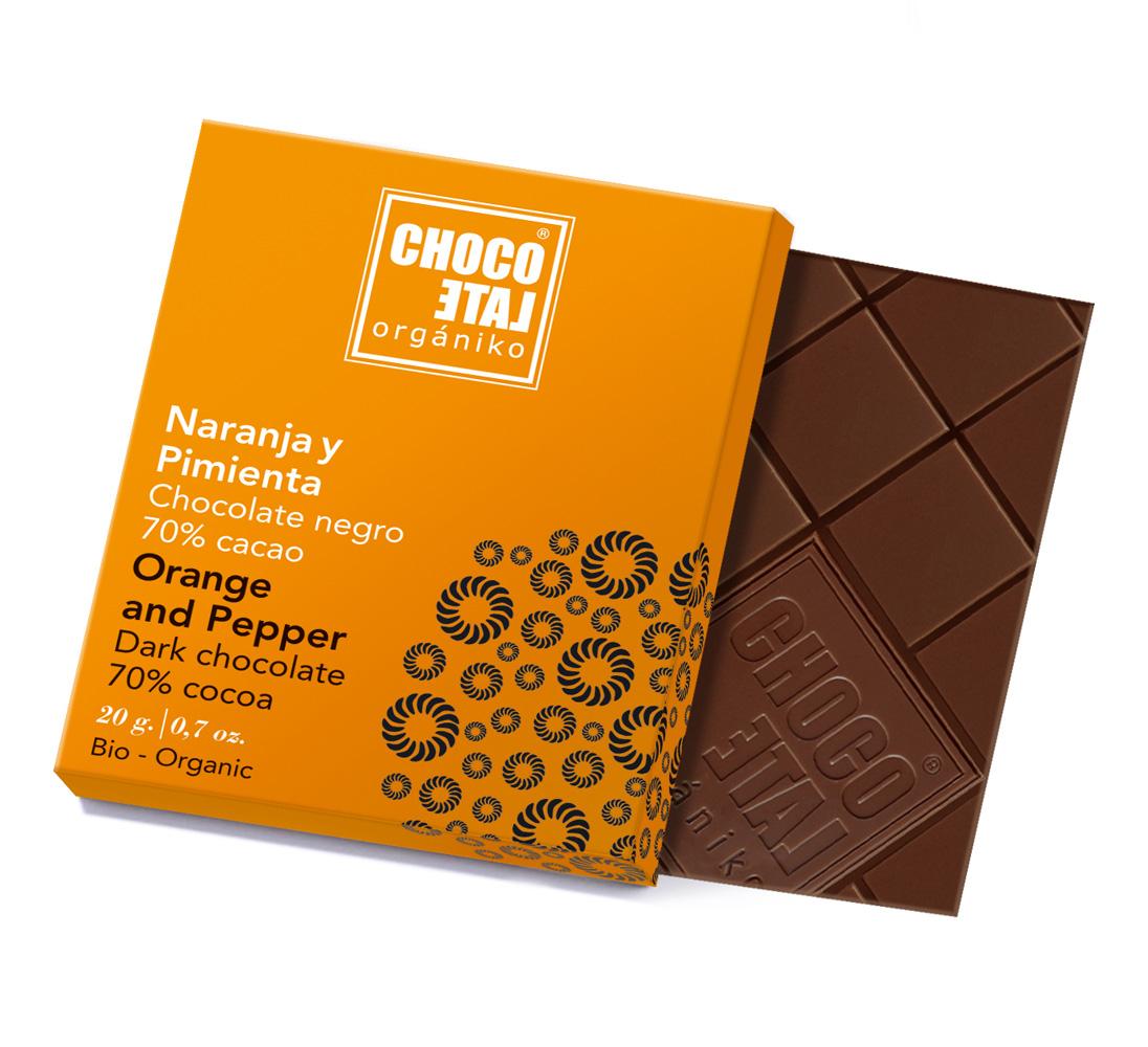 Dark Chocolate Orange&Pepper (ekologisk, ES-ECO...