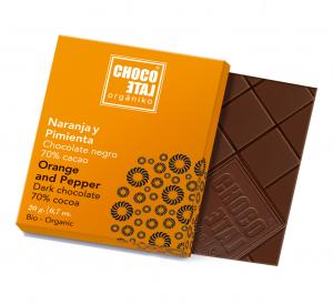 Dark Chocolate Orange&Pepper (ekologisk, ES-ECO...