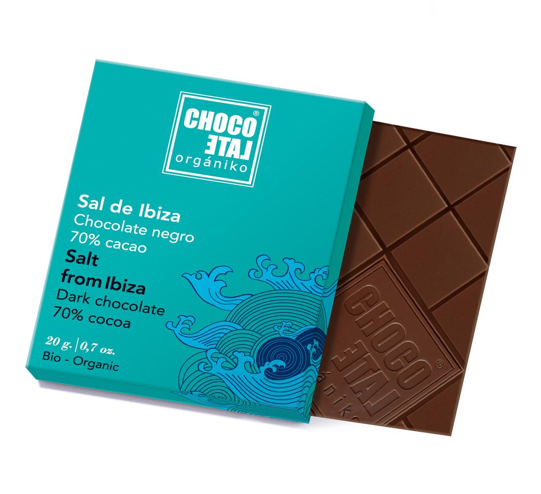 Dark Chocolate Fleur de Sel (ekologisk, ES-ECO-...