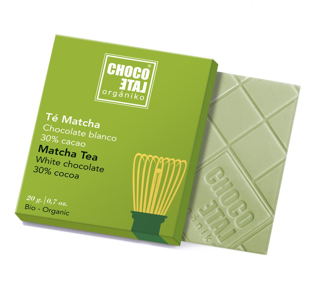 White Chocolate Matcha Tea (ekologisk, ES-ECO-0...