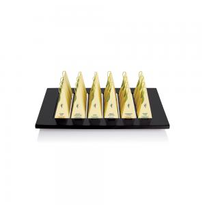 Presentation Tray pyramid Black