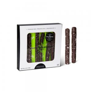 Chocolate Glazed Liquorice Sticks Salt Frosted,...