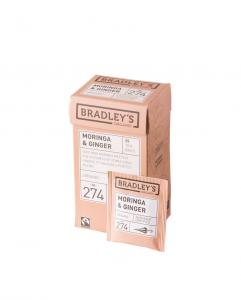 Bradley's Moringa Ginger (eko NL-BIO-01), 100st