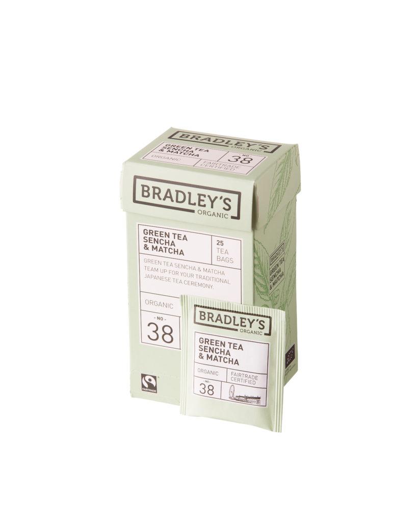 Bradley's Green Tea Sencha & Matcha (eko NL-BIO...