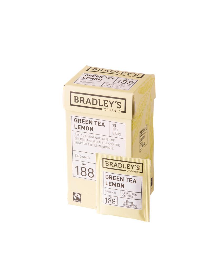 Bradley's Green Tea Lemon (eko NL-BIO-01), 100st