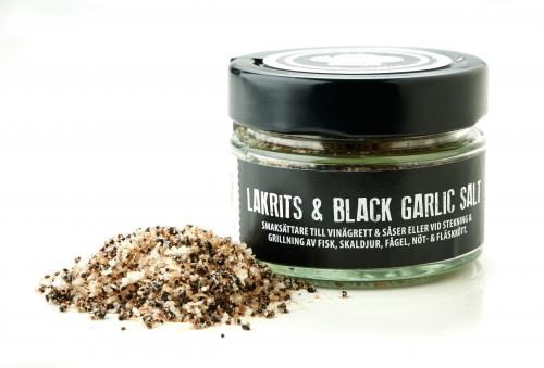 Lakritskocken Lakrits & Black Garlic Salt, 75g