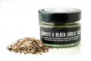 Lakritskocken Lakrits & Black Garlic Salt, 75g