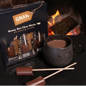 GNAW Boozy infused Hot Choc Gift Set
