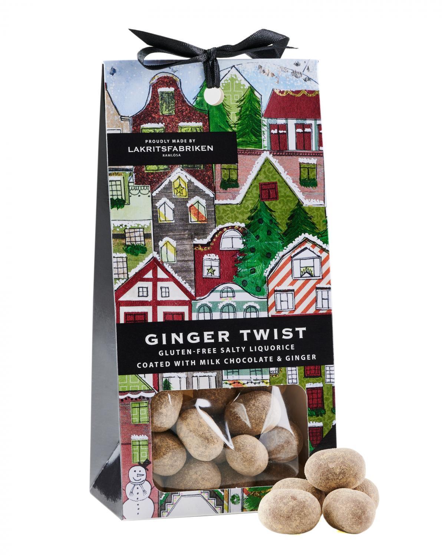 Ginger Twist- Milk Chocolate, Salty Liquorice, ...