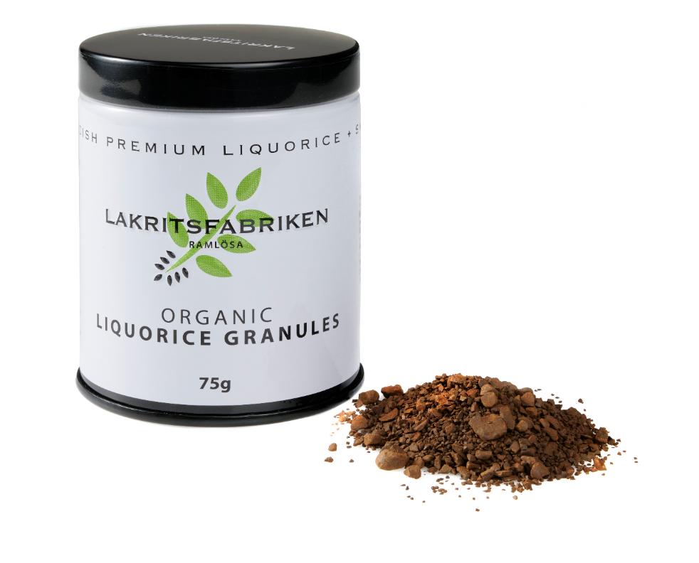 Organic Premium Liquorice Granules, 75g