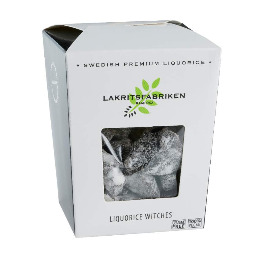 Super Salty Liquorice Witches, 150g