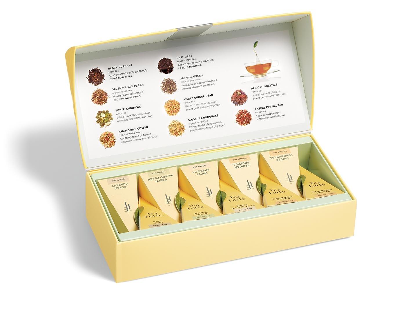 Petit Presentation Box Tea Tasting Assortment