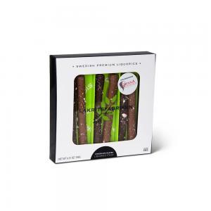 Chocolate Glazed Liquorice Sticks Polka, 180g