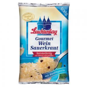 Leuchtenberg Vitvinsurkål Gourmet 520g