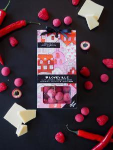 Loveville - Liquorice, White chocolate, raspber...