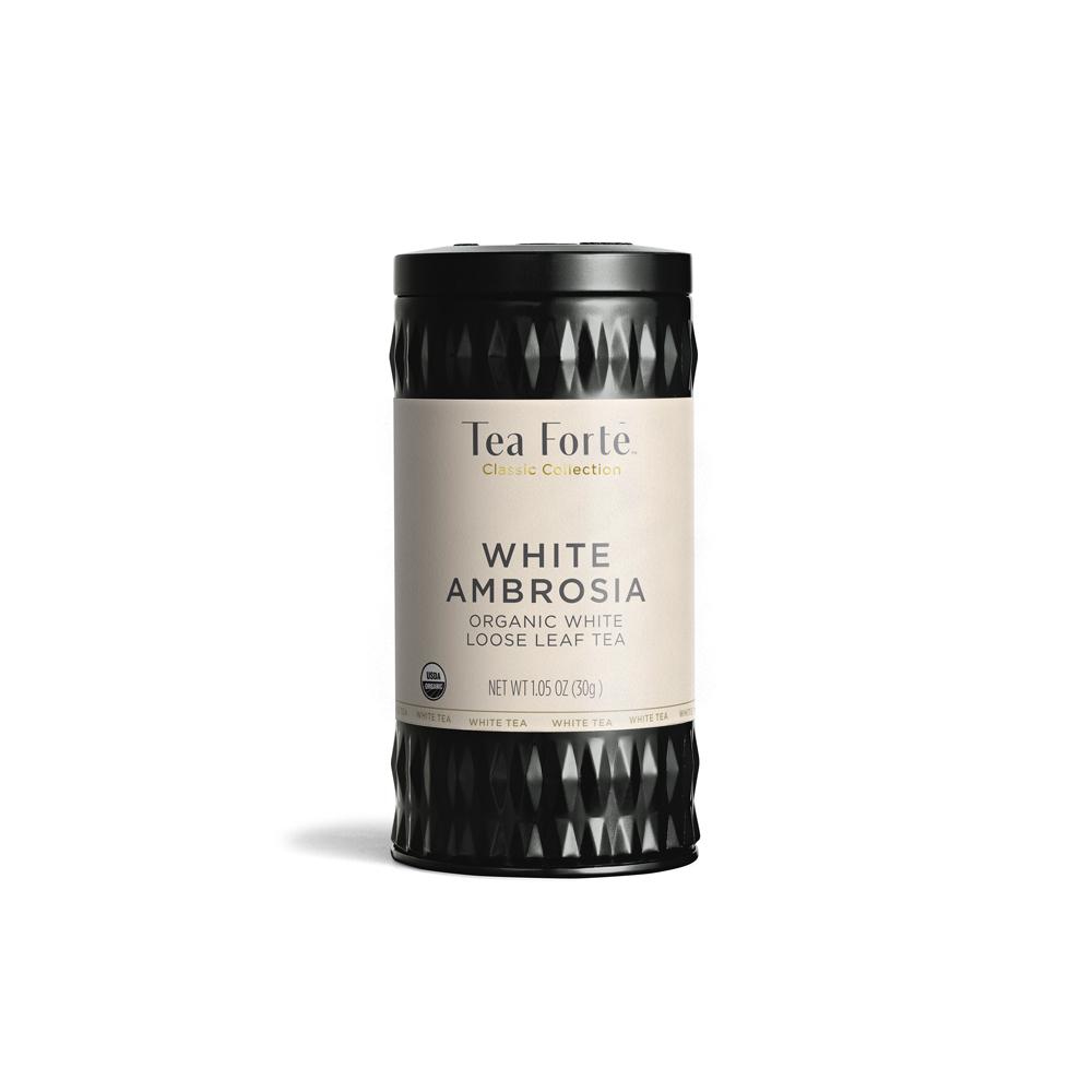 Loose Tea White Ambrosia, (eko SE-EKO-04) vitt te