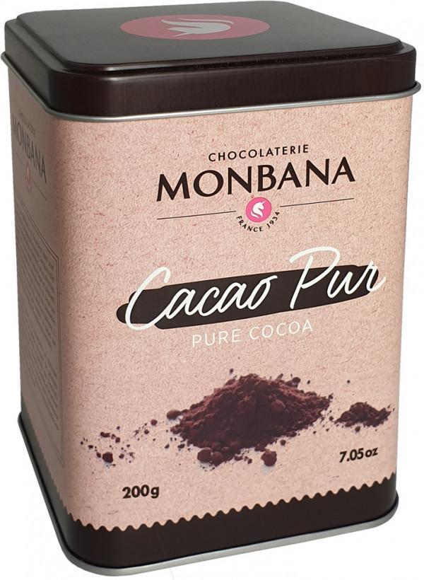 Kakaopulver i metallbox, 200 gram