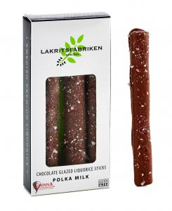 Liquorice Sticks Milk Chocolate & Polka, 45g