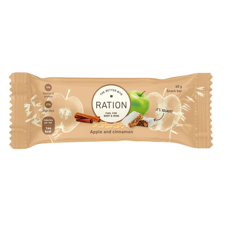 Ration Bar Apple & Cinnamon, 40 g