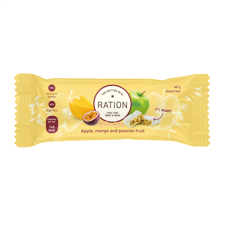 Ration Bar Apple, Mango & Passionfruit, 40 g