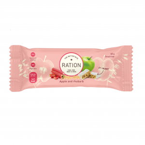 Ration Bar Apple & Rhubarb, 40 g