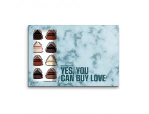 Yes you can buy love - giftbox  -ANVÄND EJ