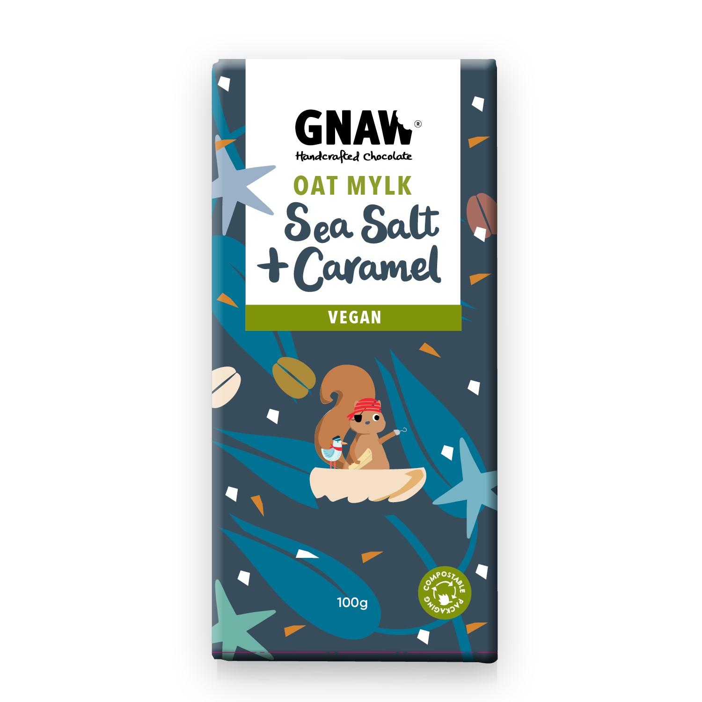 Oatmylk  sea salt and caramel 100g